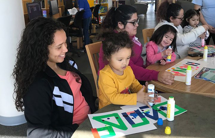 Early Childhood Matters participants engaging in a creative educational activity