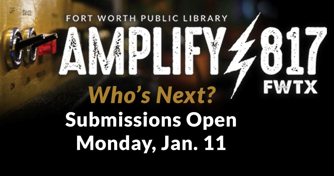 Final Days: Submit to Amplify 817